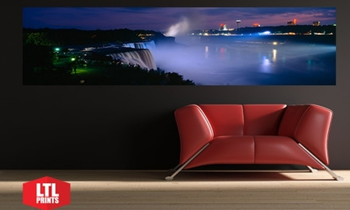 """Larger Than Life Prints: $35 for a """"Big Wall Graphic"""" Panoramic Wall Mural from Larger Than Life Prints"""
