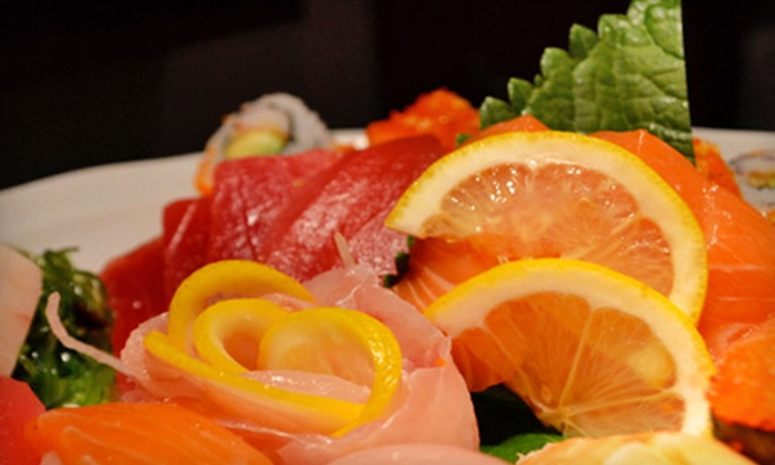 Sushi-Ichi Japanese Restaurant - Setauket-East Setauket: $10 for $20 Worth of Dinner Fare Plus Edamame at Sushi-Ichi Japanese Restaurant in East Setauket ($23.95 Value)