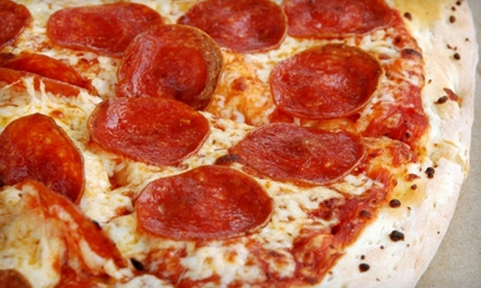 Hot Tomatoes Pizza - Multiple Locations: $7 for $15 Worth of Pizza and More at Hot Tomatoes Pizza