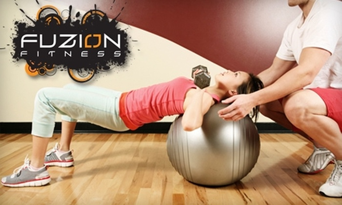 Fuzion Fitness - Desert Ridge: $39 for Three Weeks of Boot Camp and One Personal Training Session at Fuzion Fitness
