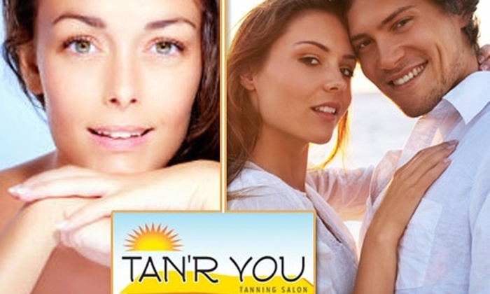 TAN'R YOU - Multiple Locations: $20 for Two High-Pressure MATRIX Tanning Sessions or Two Cabana Spray-Tans at TAN'R YOU ($40 Value)