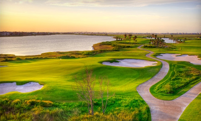 Moody Gardens Golf Course - Galveston: Golf Outing for One, Two, or Four with Cart and Range Balls at Moody Gardens Golf Course in Galveston (Up to 75% Off)