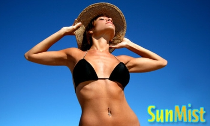Sun Mist Custom Spray Tanning - College Park: $17 for One Full-Body Custom Spray Tan at Sun Mist Custom Spray Tanning ($35 Value)