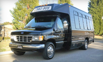 3-Hour Limo Party-Bus Tour Through the Festival of Lights in Tanglewood Park (a $315 value) - Classic Elegance Limousine Service in
