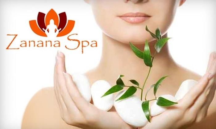 Zanana Spa - Teaneck: $45 for an Organic Facial and Spa Manicure at Zanana Spa ($90 Value)