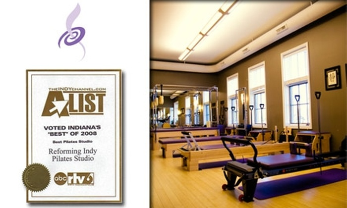 Reforming Indy Pilates Studio - Carmel: $30 for Three Pilates Reformer Classes at Reforming Indy