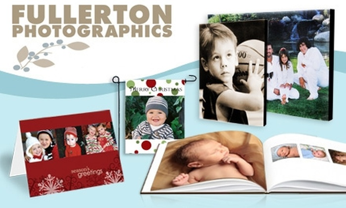 Fullerton Photographics - Orange County: $20 for $50 Worth of Photo Products or Services at Fullerton Photographics