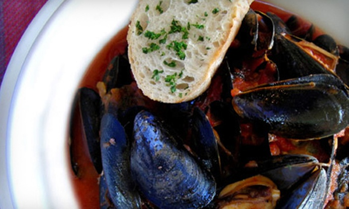 Violette - Normanskill: Meal with Appetizer and Drinks for Two, Four, or Six or $20 for $40 Worth of French Cuisine at Violette in Woodstock