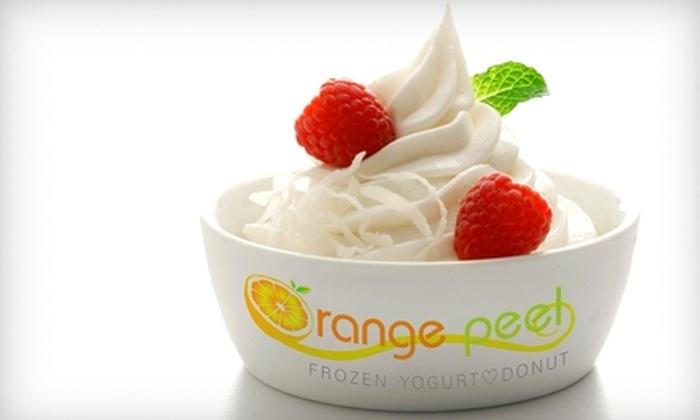 Orange Peel - Lewisville: $5 for $10 Worth of Frozen Yogurt, Donuts, and More at Orange Peel in Lewisville