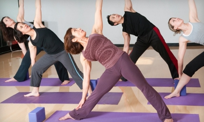 In Balance Yoga - Downtown: $60 for One Month of Unlimited Yoga at In Balance Yoga in Blacksburg (Up to $125 Value)