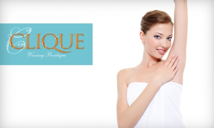 Clique Waxing Boutique - Crescent Hills: $10 for a Brow Wax ($20 Value) or $12 for an Underarm Wax or Men's Hairline Wax ($25 Value) at Clique Waxing Boutique