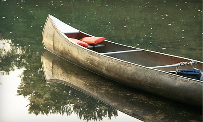 Riverview Ranch - Bourbon: Canoe Trip for Two or Four Riderss from Riverview Ranch in Bourbon