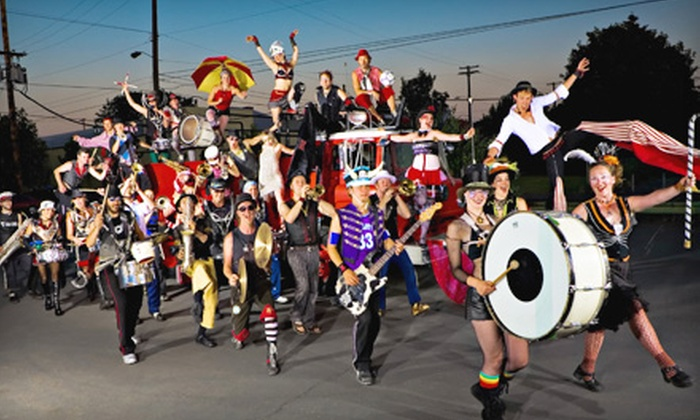 Halloween with the MarchFourth Marching Band plus Rusty Lazer - French Quarter: One Ticket to Halloween with the MarchFourth Marching Band and Rusty Lazer at House of Blues New Orleans ($19 Value)