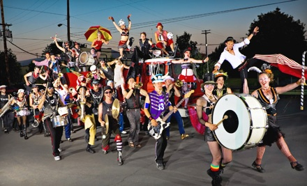Halloween with the MarchFourth Marching Band plus Rusty Lazer on Mon., Oct. 31 at 9PM: General Admission - Halloween with the MarchFourth Marching Band plus Rusty Lazer in New Orleans