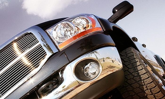 Get M.A.D. Mobile Auto Detailing - Forney: Car Detailing Services from Get M.A.D. Mobile Auto Detailing. Four Options Available.
