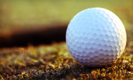 18-Hole Round of Golf for Two or Four with Cart Rental at Indian Run Golf Course (Up to 57% Off)