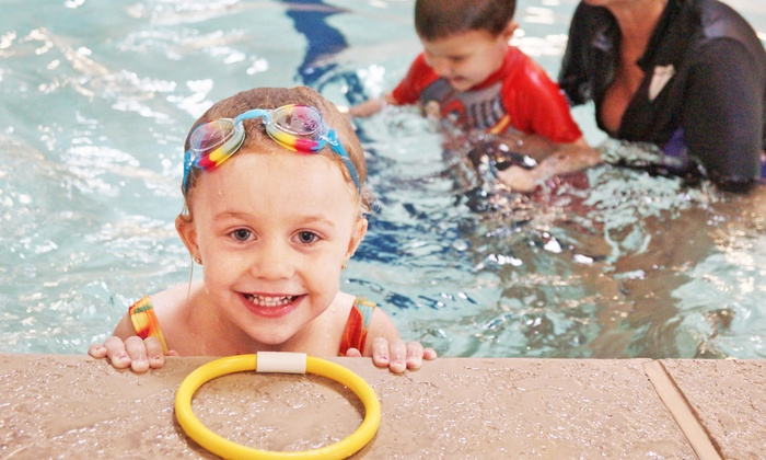 Desert Swim School - Multiple Locations: $49 for Eight 30-Minute Swimming Lessons for One Child at Desert Swim School ($105 Value)