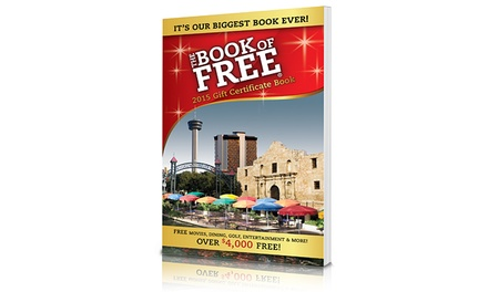 One or Three Book of Free 2015 Gift-Certificate Books Including Shipping (Up to 69% Off)