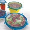 6-Piece Set of Fresh Tops Lids for Kitchen Containers