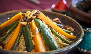 DARINA: 2 couscous ou tagine au choix parmi une sélection et thé à la menthe pour 2 personnes dès 24,90 € au restaurant Darina