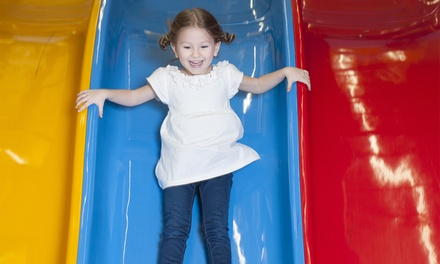 1 Weekday $6 or Weekend Entry $9 or 10 Visits $75 to Lollipop's Playland Child + 1 Adult Up to $120 Value