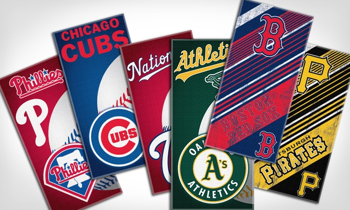 The Northwest Company MLB Beach Towels: $12.99 for a The Northwest Company MLB Beach Towel ($19.99 List Price). Multiple Teams Available. Free Returns.
