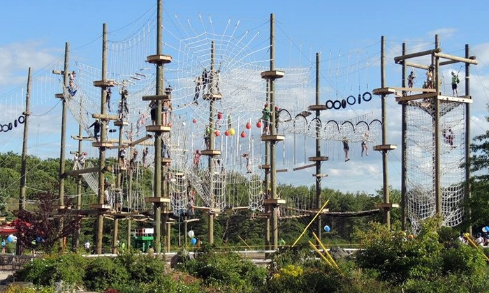 Take Flight - Kittery: $50 for High Ropes Course and Zip Line Tours at Take Flight ($99 Value)
