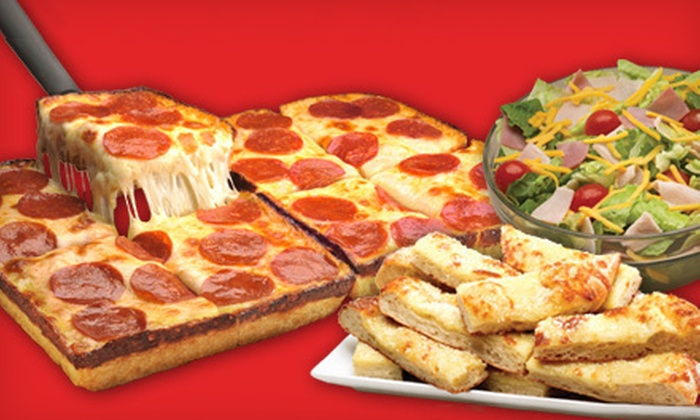 Jet's Pizza - Northwest Raleigh: $10 for $20 Worth of Pizza and Sub Sandwiches at Jet's Pizza