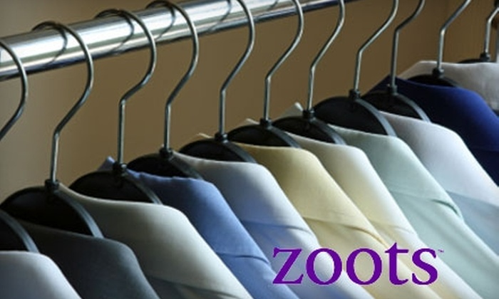 Zoots Dry Cleaning - Multiple Locations: Dry Cleaning Services at Zoots Dry Cleaning. Choose from Four Options and 17 Locations.