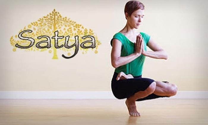 Half Off at Satya Yoga & Pilates Studio - Satya Yoga and ...