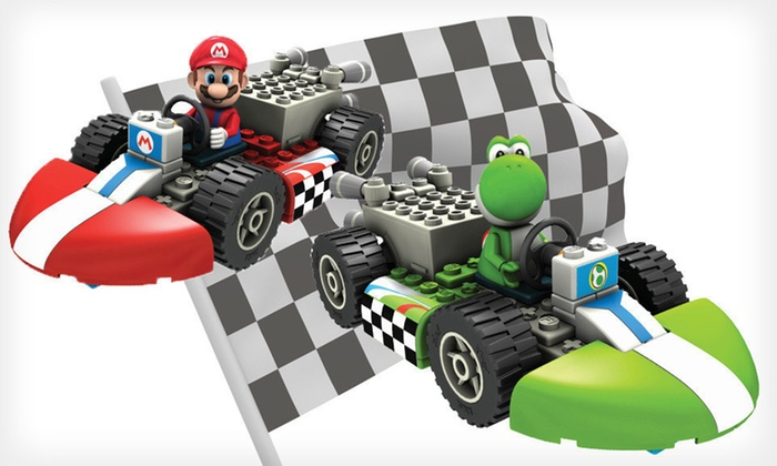 K'Nex Mario Kart Wii Building Sets: $8 for a K'Nex Mario Kart Wii Building Set ($15.99 List Price). Three Options Available. Free Returns.