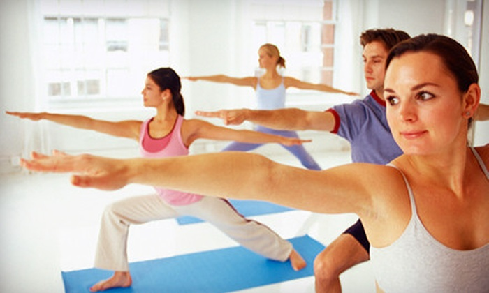 4UYoga - South Worcester: 10- or 20-Class YogaFit Punch Card at 4UYoga (Up to 78% Off)