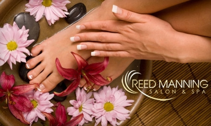 Reed Manning Salon & Spa - Multiple Locations: $30 for a Classic Mani-Pedi at Reed Manning Salon & Spa ($60 Value). Choose from Three Locations.