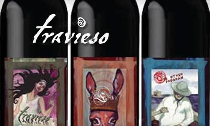 Travieso Winery - Campbell: $20 for $40 Worth of Wines at Travieso Winery in Campbell