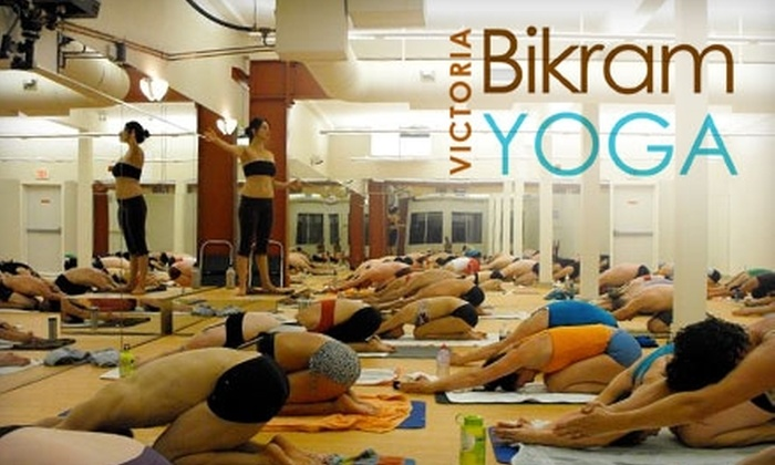 Bikram Yoga Victoria - Harris Green: $30 for One Month of Unlimited Hot Yoga at Bikram Yoga Victoria on Fort Street ($178 Value)