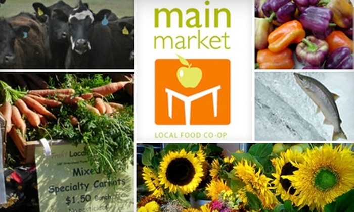 Main Market Co-op - Riverside: $7 for $15 Worth of Locally Grown Produce, Groceries, and More at Main Market Co-op