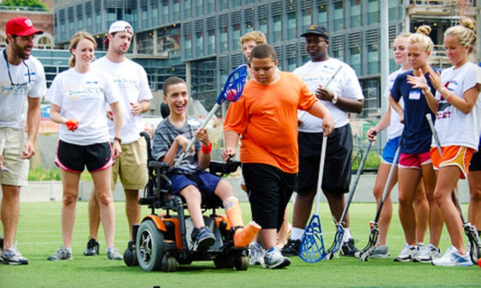 Dreams for Kids - Washington DC: If 50 People Donate $10, Then Dreams for Kids Can Send 20 Young People with Disabilities to an Extreme Recess Golf Clinic