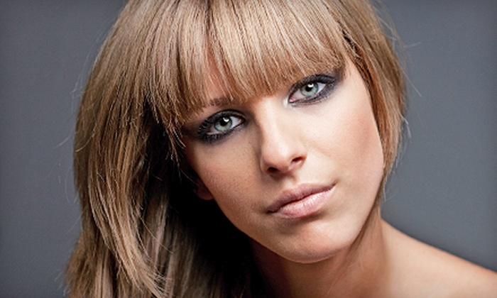 Salon Platinum - New Southside: Makeup or Hair Package at Salon Platinum (Up to 79% Off). Four Options Available.