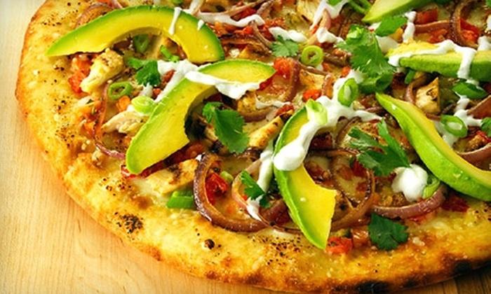 zpizza - SoMa: $10 for $20 Worth of Gourmet Pizza and Trattoria Fare at zpizza