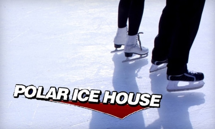 Polar Ice House Ice-Skating Rink - Multiple Locations: $10 for Two Admissions and Skate Rentals at the Polar Ice House Ice-Skating Rink (Up to $21 Value)