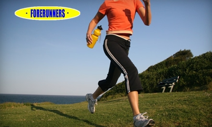 Forerunners - Multiple Locations: $25 for $50 Worth of Apparel and Footwear at Forerunners