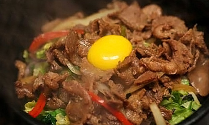 Little Korea - La Jolla: $14 for a Korean Meal for Two at Little Korea in La Jolla (Up to $28.40 Value)