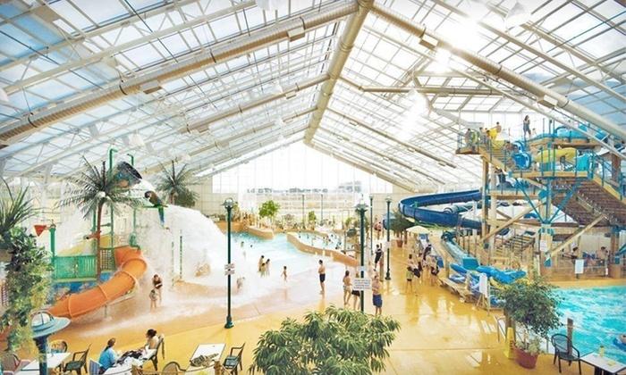 Americana Waterpark Resort and Spa - St Catharines-Niagara: One-Night Stay at Americana Waterpark Resort and Spa in Niagara Falls, Ontario