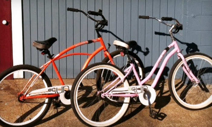 A Musing Bikes - Lower Garden District: Two-Hour or Full-Day Basic Bike Rental at A Musing Bikes (Half Off)