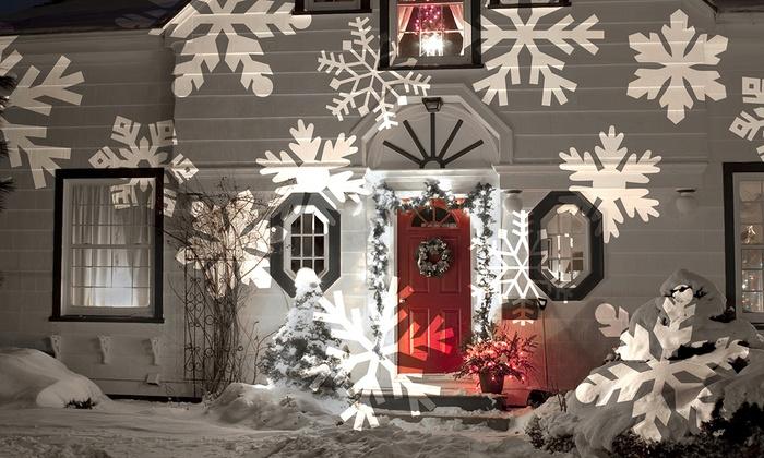 Outside Christmas Star Light