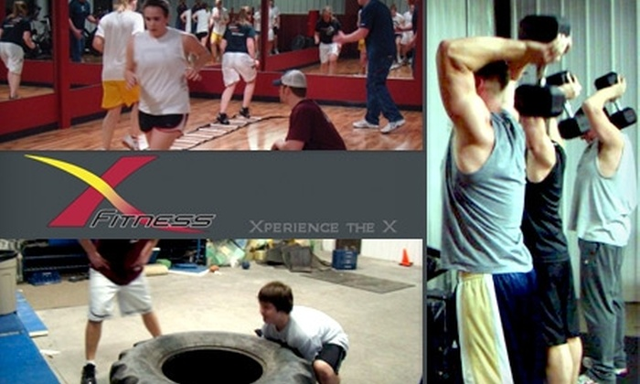 X fitness - Sioux Falls: $55 for a One-Month Membership to X Fitness Center, Including XRKade Access and Tanning