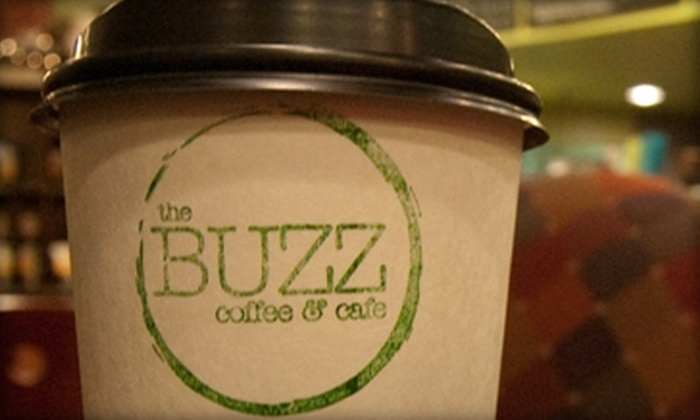 The Buzz Coffee and Cafe - Burnsville: $7 for $15 Worth of Coffee and More at The Buzz Coffee and Cafe