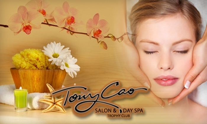 Tony Cao Salon and Spa - Roanoke: $35 for Either a Swedish Massage or a Facial at Tony Cao Salon and Spa (Up to $75 Value)