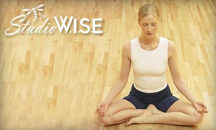 Studio W.I.S.E. - Alliance: $36 for 5 Infrared Hot Yoga Classes at Studio W.I.S.E. ($73 Value)