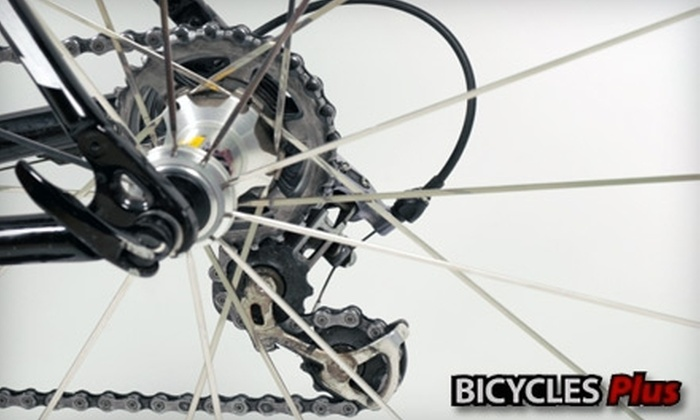 Bicycles Plus - Multiple Locations: $30 for a Basic Tune-Up at Bicycles Plus